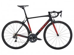 785 HUEZ RS ULTEGRA DI2 BLACK RED GLOSSY MAT A15